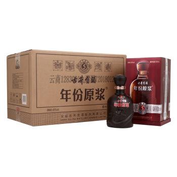 古井贡酒年份原浆古5 45度500ml*6瓶 浓香型白酒整箱装(新老包装随机发货)