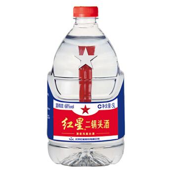 红星 二锅头 (桶装、清香型、60度、5L)