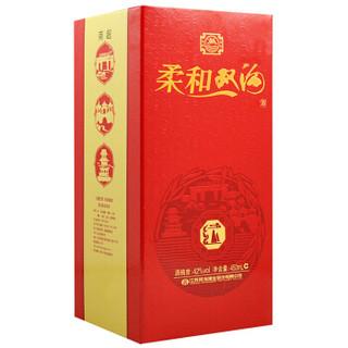 双沟 柔和双沟红 白酒 (瓶装、浓香型、42度、450ml)