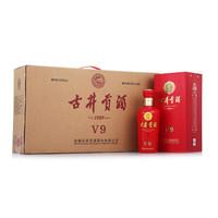 古井贡酒 v9 白酒 (箱装、浓香型、40.6、 500ml)