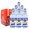 永丰牌北京二锅头清香型(出口小方瓶)永丰二锅头蓝瓶42度(礼盒装)500ml*6瓶