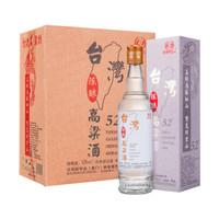 宝岛阿里山高粱酒浓香型白酒52度 450ml*6瓶 *2件