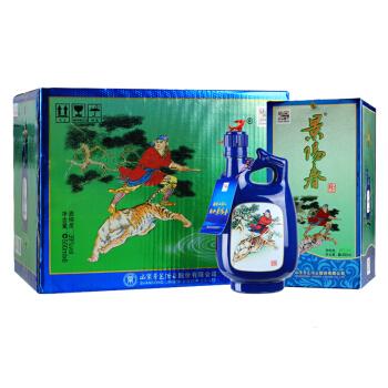 景芝 景阳春 39度 浓香型白酒 500ml*6瓶