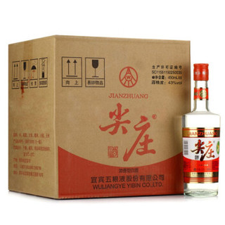 尖庄 白酒 (浓香型、43度、450ml*12瓶)