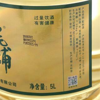 劲牌 白酒 (桶装、其他、42.8%vol  5L装)