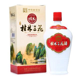 桂林三花 珍品 乳白瓶 52%vol 米香型白酒 450ml 单瓶装