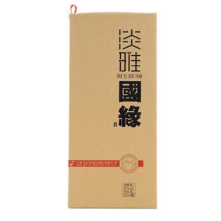今世缘 淡雅国缘白酒 (瓶装、浓香型、42度、500ml)