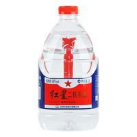 红星 白酒 二锅头 清香风格 60度 2L 桶装 *3件