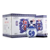红星 白酒 青花瓷 珍品 二锅头 清香型 52度 750ml*6瓶整箱装 高度白酒