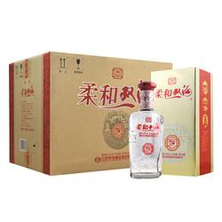 柔和双沟 银装42度450ml*6瓶 整箱装 浓香型 白酒