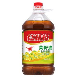 红蜻蜓 食用油 非转基因  菜籽油 5L