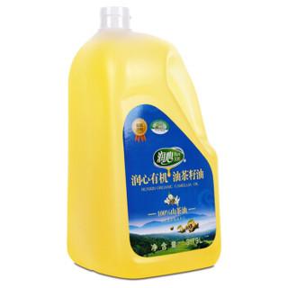 润心 有机茶籽油 3.79L