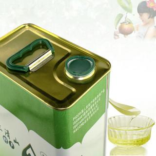 源森 茶籽油 油茶籽油 野生山茶油 压榨一级食用油 2L