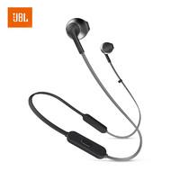 JBL 杰宝 tune205bt 耳机 (通用、后挂式、黑色)