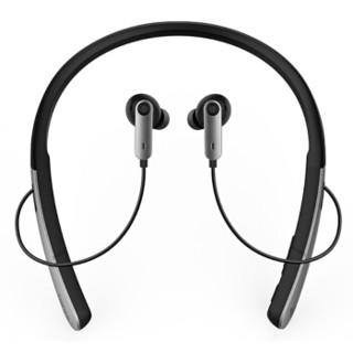 EDIFIER 漫步者 W330NB 入耳式颈挂式蓝牙耳机 黑色