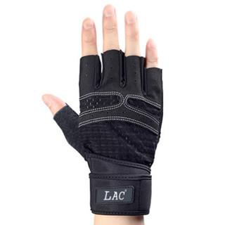 LAC健身手套男女半指防滑透气护掌手套 入门款L码
