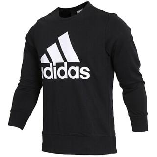 阿迪达斯ADIDAS 2018秋季 男子 型格系列 ESS BIGLOG CREW 套头衫 CD6275 L