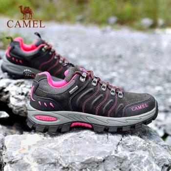 CAMEL/骆驼 女款 徒步鞋 碳灰 A833036133