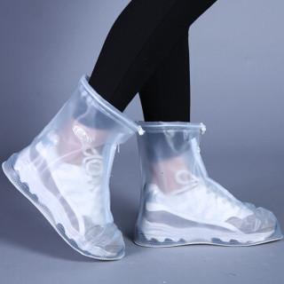 伊娃之恋  雨鞋套防水雨天防滑防水鞋套男女防滑加厚耐磨防雨鞋套 L