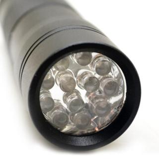加加林 12LED验钞灯 便携式验钞器 紫光验钞荧光检测 手电筒