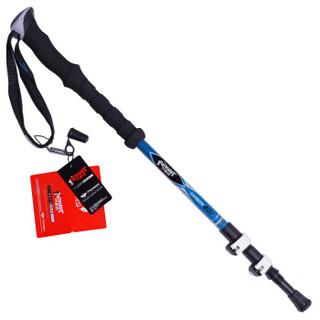 开拓者 PIONEER 户外登山杖碳纤维手杖超轻三节徒步健走手杖