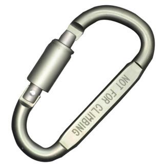JAJALIN 加加林 多功能快挂铝合金登山扣钥匙扣 灰色 JA002