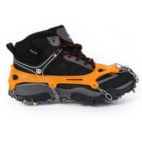红色营地 户外登山冰爪防滑鞋套 雪地攀岩装备 8齿简易冰抓