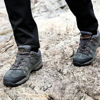 THE FIRST OUTDOOR 男款 登山鞋 深灰色 084089