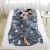 零度探索 LIVTOR旅行酒店宾馆全棉印花卫生床单户外便携式隔脏防脏纯棉睡袋内胆  冷杉单人款 120*230cm