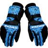 博沃尼克 运动滑雪手套 冬季保暖手套 防风寒防水 加厚骑行手套 骑车手套  蓝立方升级款