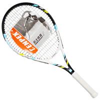 ENPEX乐士 A99 健身训练 男女初学者网拍 碳复合一体网球拍 已穿线
