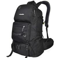 力开力朗(LOCAL LION)069 双肩背包休闲包登山运动包可放15寸电脑包069黑色 40L