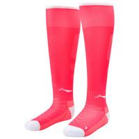 LI-NING 李宁 AWLL099-4 长筒足球袜 (荧光果粉、S)