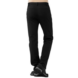 TECTOP 探拓 男款 软壳衣裤 黑色 PW7609