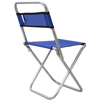 畅意游 Easy Tour 户外便携钓鱼椅 小马扎折叠小凳子小号钓鱼椅 蓝色