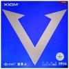 XIOM骄猛 乒乓球胶皮反胶 白金V唯佳中国粘性套胶进攻型 黑色MAX