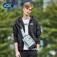 Discovery户外2019春夏新品男式连帽卫衣防风双面针织棉DAUH81029