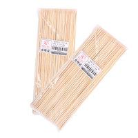 红色营地 竹签一次性烧烤签子 棉花糖糖葫芦竹签烤羊肉串用品配件工具 30cm长 260支
