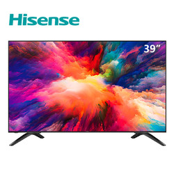 海信(Hisense) HZ39E35A 39英寸 平板电视 AI人工智能 金属背板(黑色)