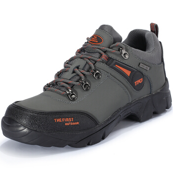 THE FIRST OUTDOOR 男款 登山鞋 深灰色 842751