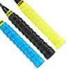 泰昂TAAN 羽毛球拍手胶龙骨握把胶打孔压纹吸汗带柄皮防滑耐用粘性H12黑蓝黄三条装