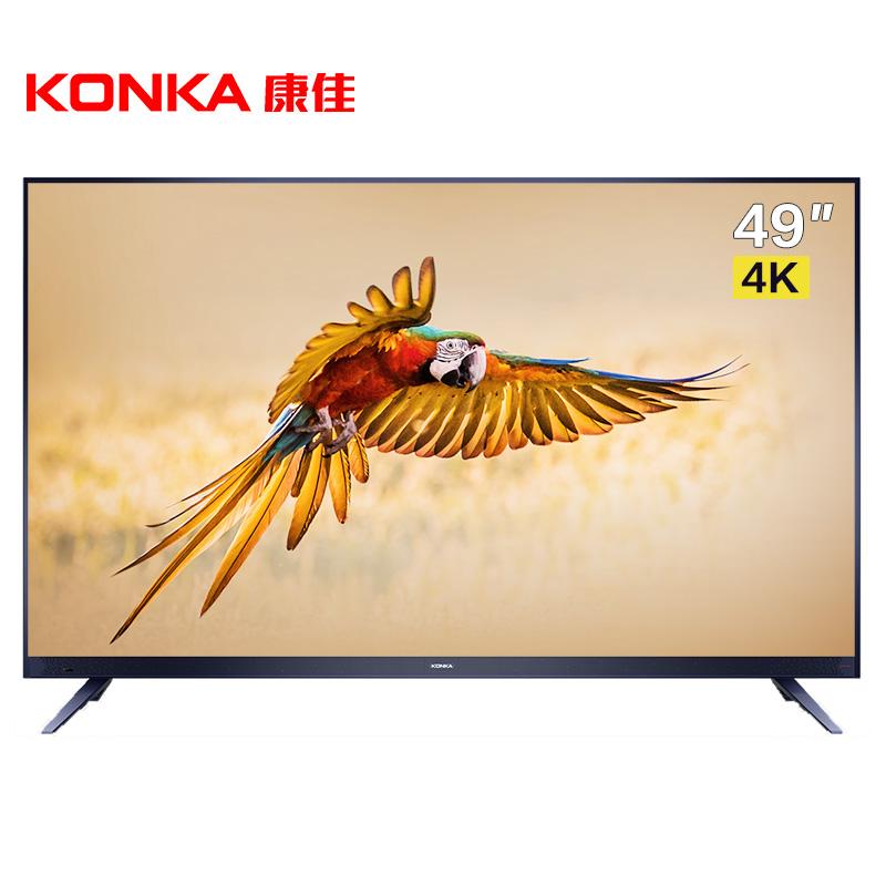 KONKA 康佳 LED49X7 液晶电视 (4K超高清(3840*2160)、午夜蓝、49英寸)