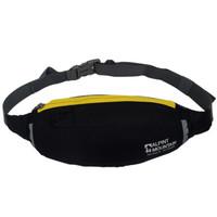 埃尔蒙特ALPINT MOUNTAIN 运动跑步腰包男女户外健身手机包旅行便携贴身小腰包徒步包旅行包 630-729 黑色