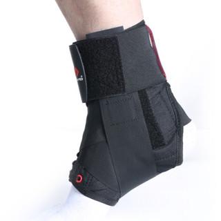 迈克达威(McDavid)195 护踝运动扭伤防护护脚踝崴脚男女专业篮球健身护具 黑色 S码