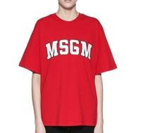 MSGM 女士LOGO印花T恤