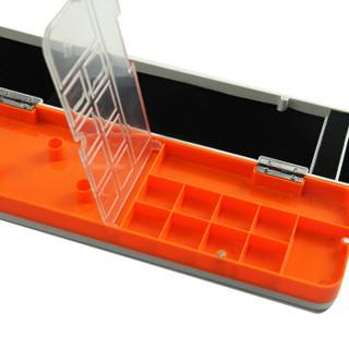 熊火( bear fire )三层多功能漂盒主线盒两层鱼漂盒套装浮漂盒渔具子线盒铅皮八字环配件盒