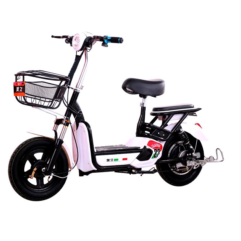 美久新 绅士黑 48V 电动自行车