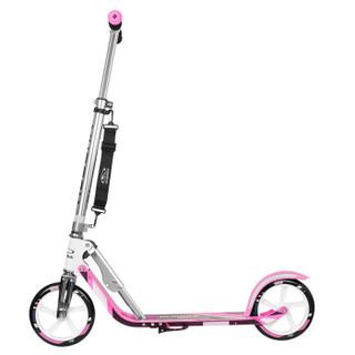 德国品牌HUDORA 轻便折叠成人滑板车 儿童滑板车踏板车14738 粉色