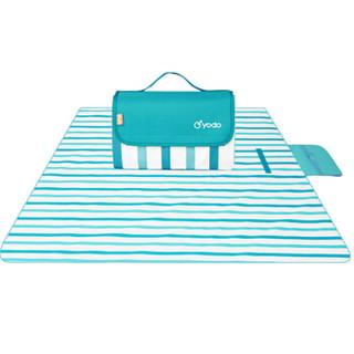 悠度(YODO)户外防水牛津布野餐垫防潮垫子便携折叠沙滩草坪坐垫郊游野外地垫