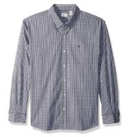 Dockers 男士格纹长袖衬衫